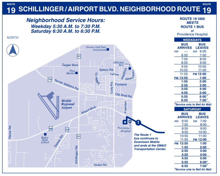 Schillinger Airport Blvd Map